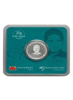 Sachin Tendulkar Collector Edition Silver Coin 20GM