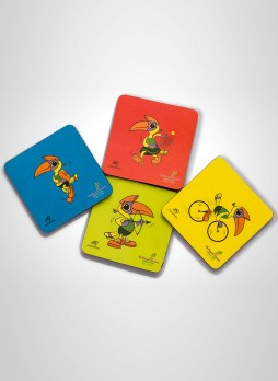 National Games Limited Edition Coasters